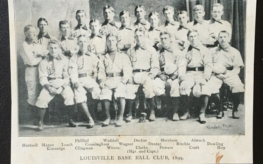 How Bourbon & Barney, Paducah & Louisville brought in the Modern Era of Baseball!